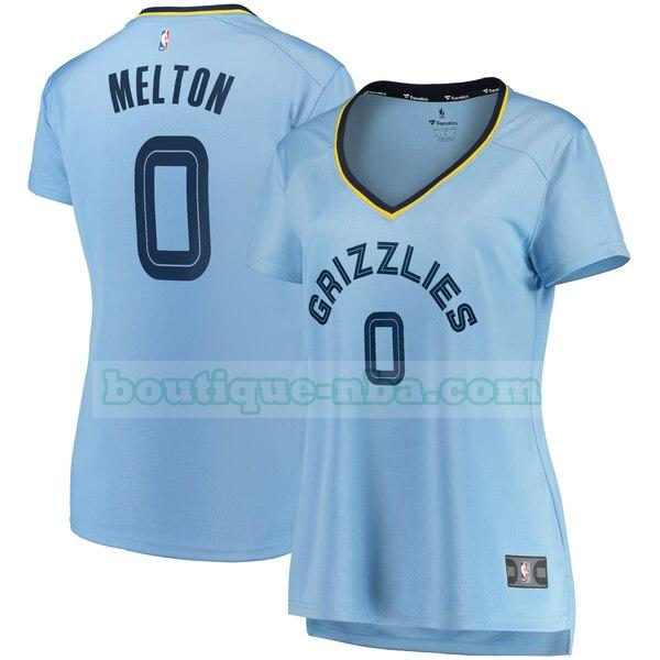 Maillots Femme De'Anthony Melton 0 statement edition nba Memphis Grizzlies Bleu