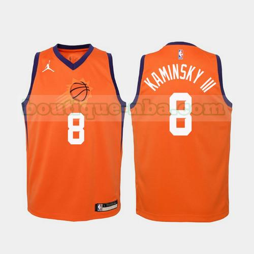Maillots Homme Frank Kaminsky Iii 8 2020-21 Statement nba Phoenix Suns Orange