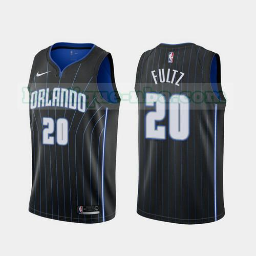 Maillots Homme Markelle Fultz 20 2020-21 Statement nba Orlando Magic Noir