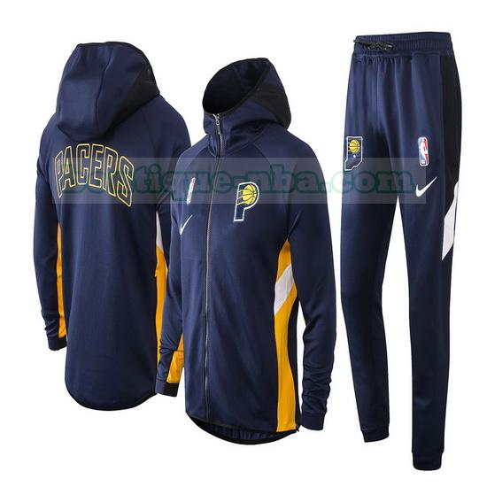 Survêtements Homme Nike nba Showtime nba Indiana Pacers Bleu