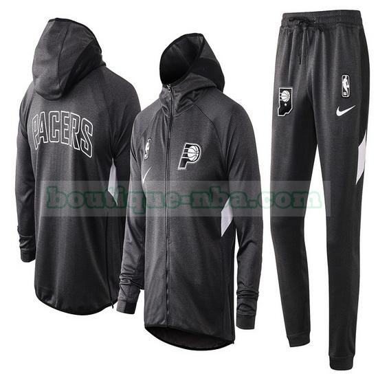 Survêtements Homme Nike nba Showtime nba Indiana Pacers Gris