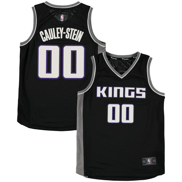 Maillots enfant Willie Cauley-Stein 0 Statement Edition nba Sacramento Kings Noir