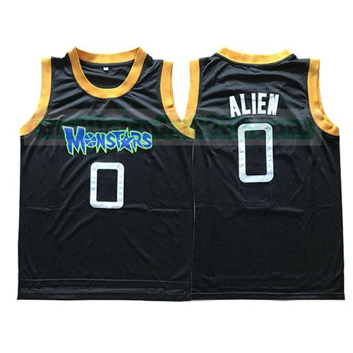 maillots Alien 0 monstars nba pelicula noir