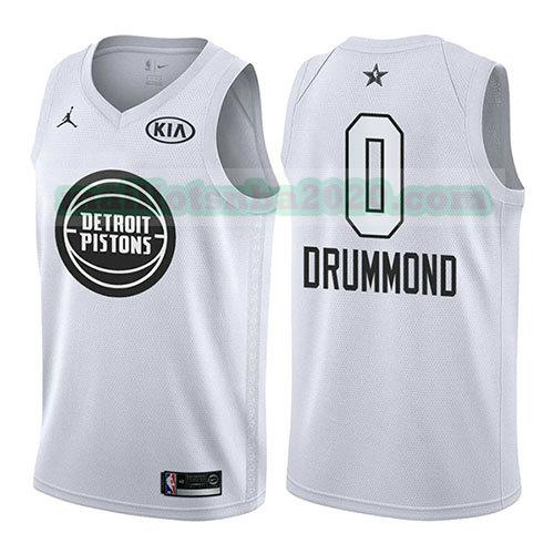 maillots Andre Drummond 0 nba all star 2018 blanc