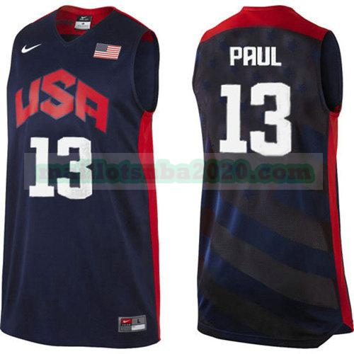 maillots Chris Paul 13 nba usa 2012 noir