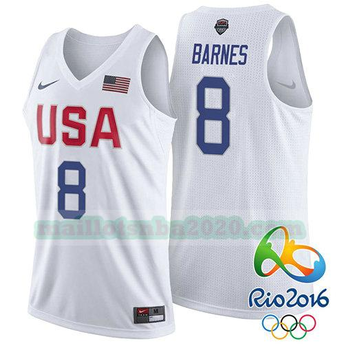 maillots Jerry Stackhouse 8 nba usa 2016 blanc