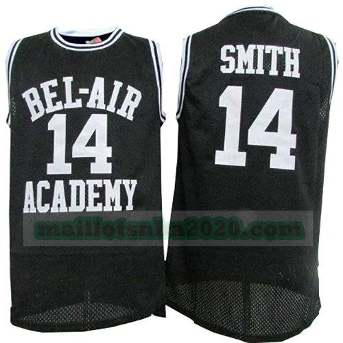 maillots Smith 14 bel-air academy nba pelicula noir