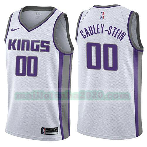 maillots Willie Cauley-Stein 0 association 2017-18 nba sacramento kings blanc