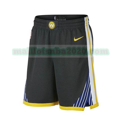 shorts 2017-18 nba golden state warriors noir