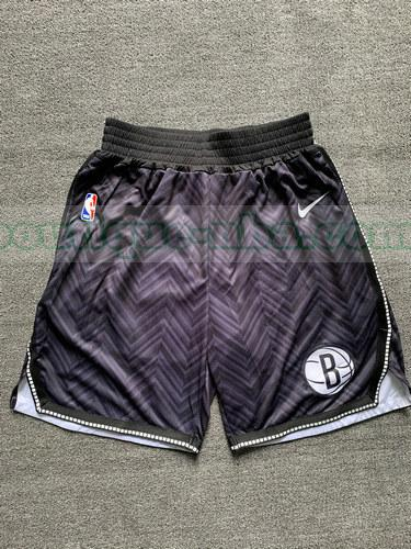 shorts Homme 2020-21 nba Brooklyn Nets Noir